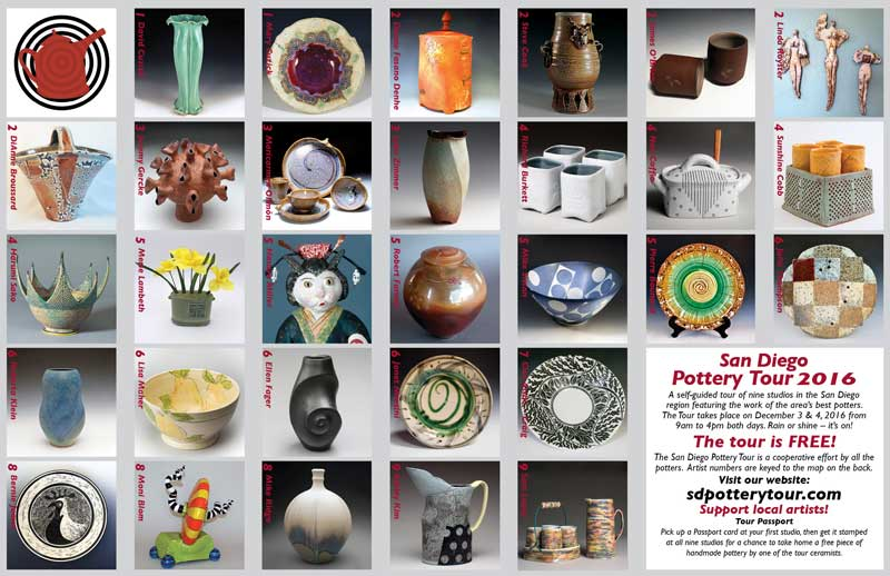 SD Pottery Tour Brochure page 2